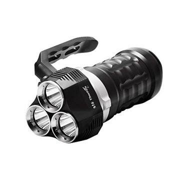 ThorFire Scuba Diving Flashlight 2000 Lumen Dive Light Underwater 70m Torch