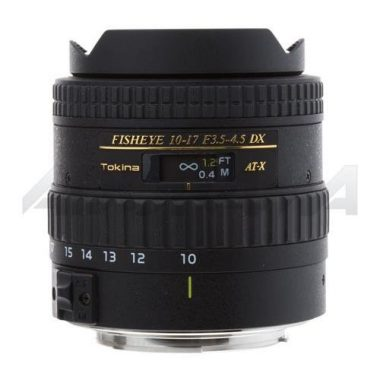 Tokina AF DX 10-17mm f/3.5-4.5 Fisheye Zoom Underwater Lens