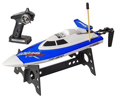 Top Race RC Blue Speed Boat