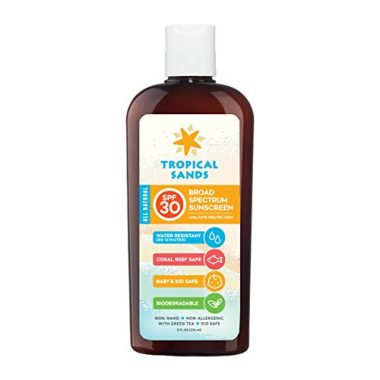 SPF 30 Reef Safe Natural Snorkel Sunscreen by Tropical Sands