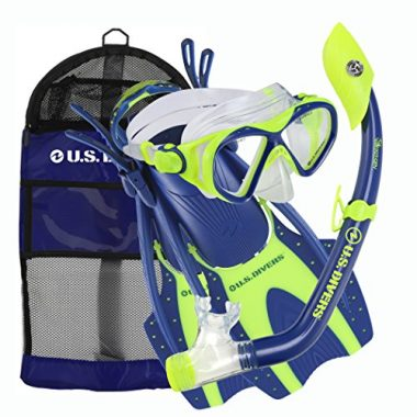 Youth Buzz Junior Snorkel Set by U.S. Divers
