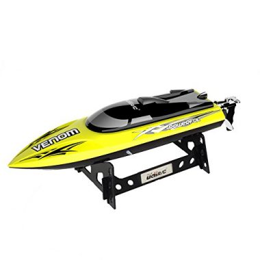 USA Toyz Venom Remote Control Boat (Limited Edition Yellow)