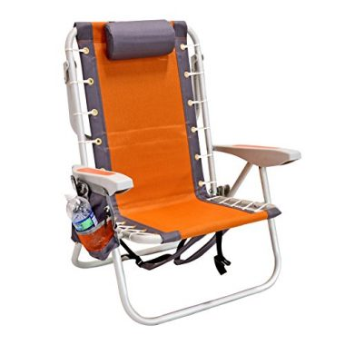 Ultimate Backpack Chair With Cooler by Rio Brands
