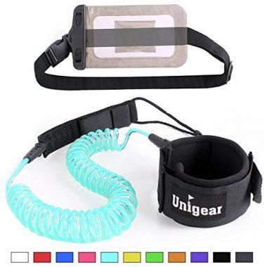 Unigear Premium Coiled Paddle Board Leash