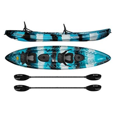 Skipjack 120T 12′ Tandem Sit On Top Kayak By Vibe Kayaks
