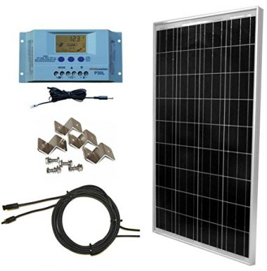 WindyNation 100w Off-Grid Solar Panel