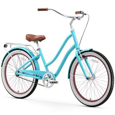 Sixthreezero Evryjourney Women S 26 Inch Step Through Hybrid Cruiser Bicycle