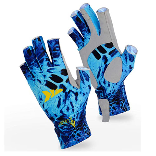 KastKing Sol Armis UPF50+ Kayaking Gloves