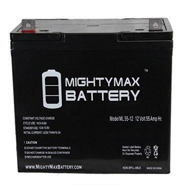 Mighty Max Battery ML55-12 SLA Trolling Motor Battery