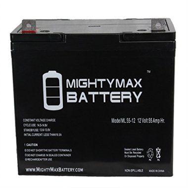 Mighty Max Battery ML55-12 SLA Trolling Motor Deep Cycle Battery