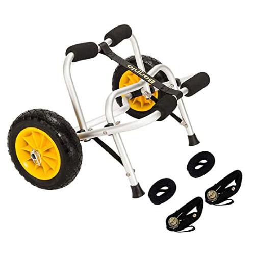 Bonnlo Inflation Free Kayak Cart