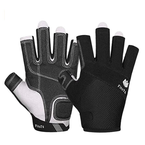 FitsT4 3/4 Finger Kayak Gloves