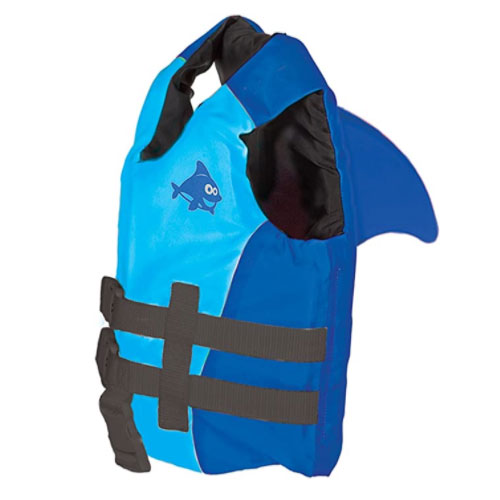 SwimWays Sea Squirts Fin Friends Kids Life Jacket