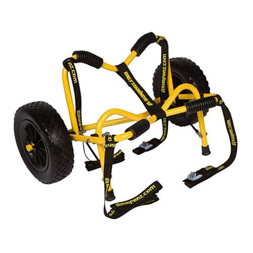 Suspenz Smart Airless DLX Kayak Cart