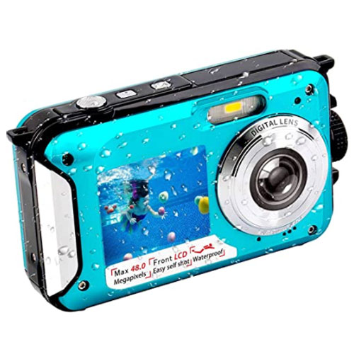 FHD 2.7K 48 MP Waterproof Digital Camera