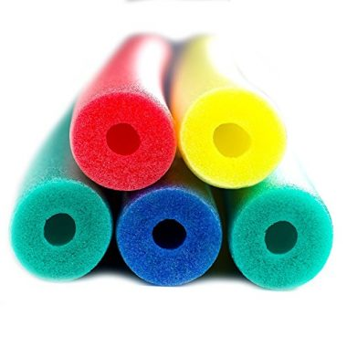 5-Piece Deluxe Wacky Floating Swim Pool Noodles
