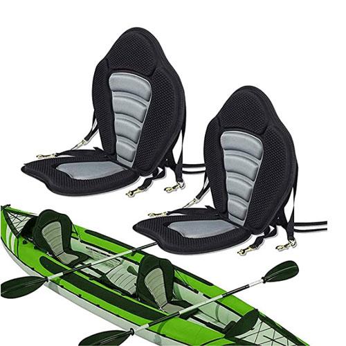 Seamander Pack of 2 Padded Kayak Seats