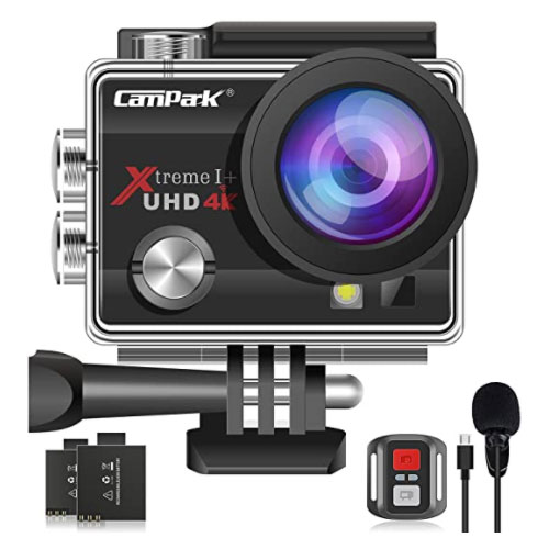 Campark ACT74 4K Ultra HD Wi-Fi Waterproof Camera