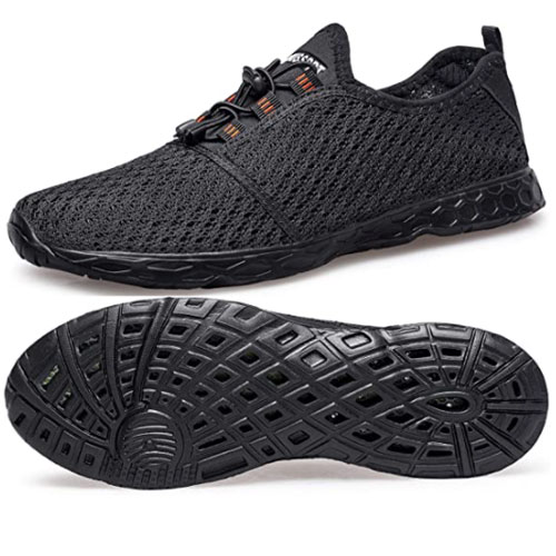 DOUSSPRT Men's Quick Dry Kayak Shoes