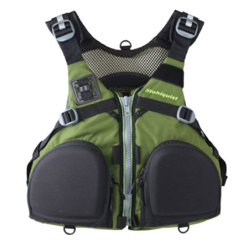 Stohlquist Fisherman PFD Paddling Life Jacket