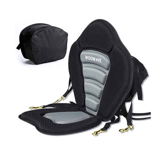 WOOWAVE Padded Deluxe Kayak Seat