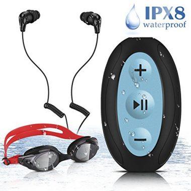 AGPTEL Waterproof MP3 Player