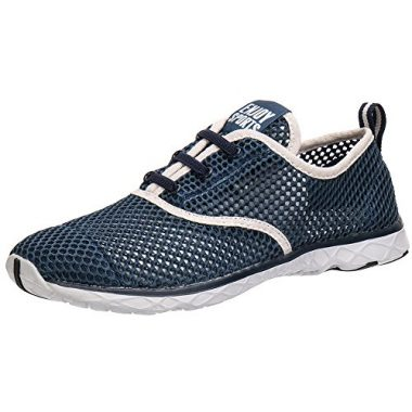 Men's Quick Drying Aqua Water Shoes by ALEADER