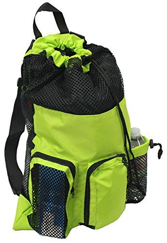 Adoretex Big Mesh Equipment Drawstring Swim Bag