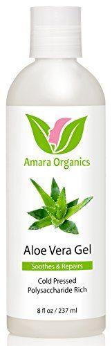 Amara Organics Cold-Pressed Aloe Vera Gel