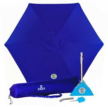 All-In-One Beach Umbrella System by BeachBub