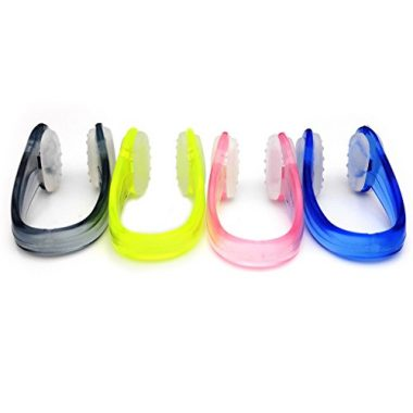 BRBD Anti-Slip Dotted Swimming Nose Clip