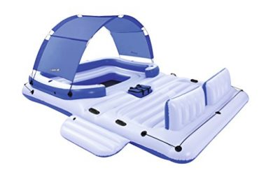 Bestway CoolerZ Tropical Breeze Inflatable Floating Island Raft