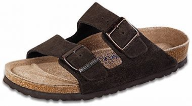 Birkenstock Arizona Soft Footbed Suede Men's Sandal