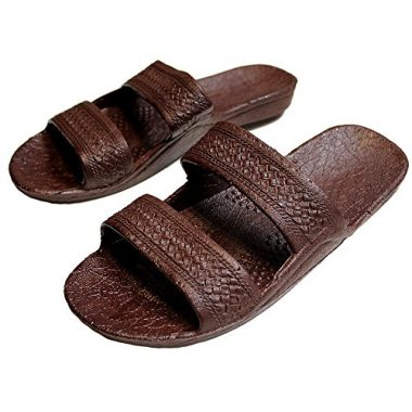 Hawaii AJW Rubber Slide-on Jandals