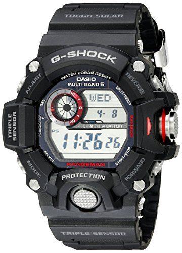 Casio Stainless Steel Solar Watch