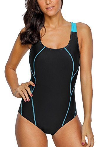 CharmLeaks Women's Pro Athletic One Piece Active Swimsuit
