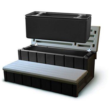 Confer Plastics Spa With Storage Hot Tub Step