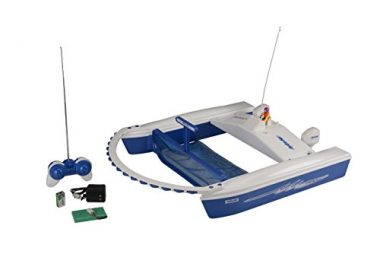 Dunrite Hydro-Net Remote-Controlled Pool Skimmer
