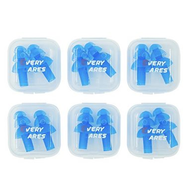 Silicone Swimming Earplugs Set by Every Cares