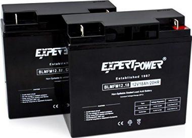 ExpertPower EXP12180-2 RBC7 Trolling Motor Batteries