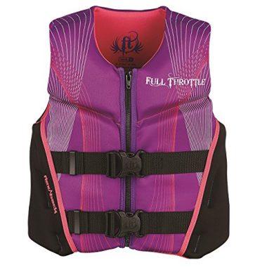 Full Throttle Youth Hinged Rapid-Dry Flex-Back Life Jacket