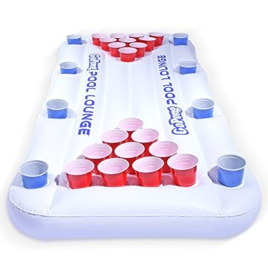 GoPong Pool Lounge Floating Beer Pong Table