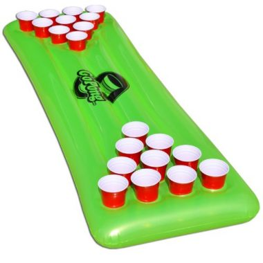 GoPong Pool Floating Beer Pong Table
