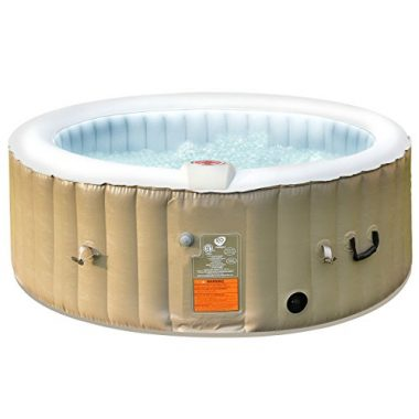 Goplus 4 Person Inflatable Spa