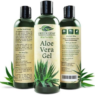 Green Leaf Aloe Natural Gel