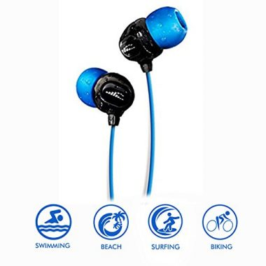H20 Audio 100% Waterproof Swimming Headphones