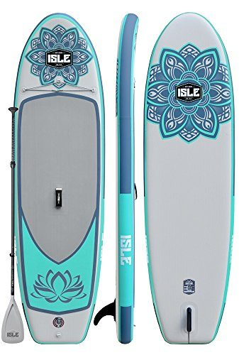 ISLE 10′ Lotus Airtech Inflatable Yoga Paddle Board