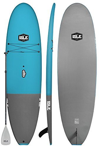 "Isle 10'8"" Soft Top Foam Stand Up Paddle Board"