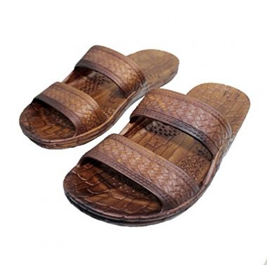 Imperial Sandals Hawaii Brown and Black Jesus Jandals