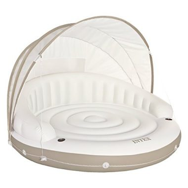 Intex Canopy Inflatable Lounge Floating Island Raft